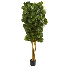 Nearly Natural 7' Fiddle Leaf Fig Artificial Tree