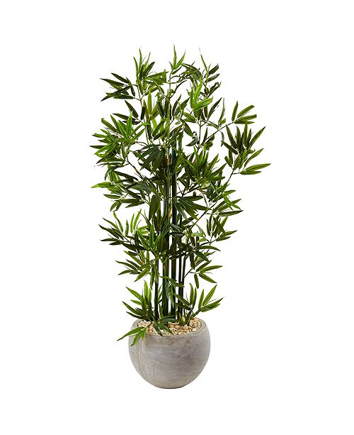 Nearly Natural 4' Artificial Tree in Sand Colored Bowl