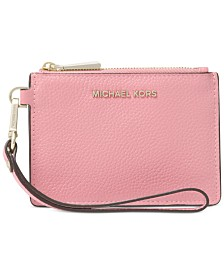 08b768cbbcf6ac Michael Kors Mercer Pebble Leather Coin Purse & Reviews - Handbags ...