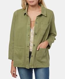 O'Neill Juniors' La Seine Cotton Twill Jacket