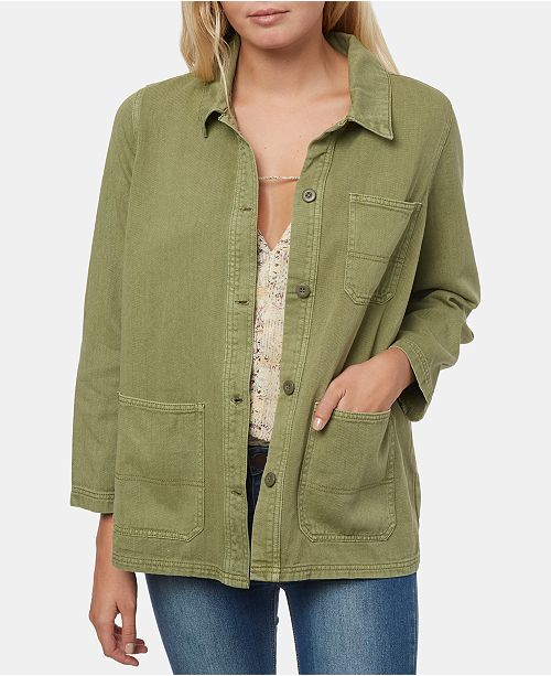 O'Neill Juniors' La Seine Cotton Twill Jacket
