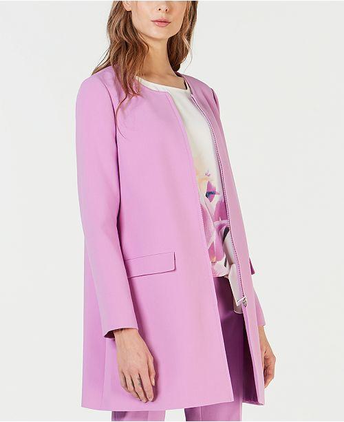 Alfani Petite Pocket Detail Jacket, Created for Macy's