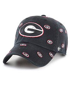 '47 Brand Women's Georgia Bulldogs Confetti Strapback Cap