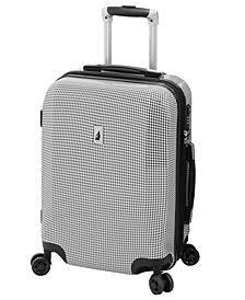 "London Fog Cambridge 20"" Expandable Hardside Carry-On Spinner Suitcase"