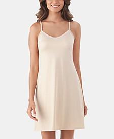 Lace V-Neck Full Daywear Slip 10141