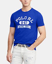 Polo Ralph Lauren Men's Big & Tall Classic Fit Graphic  T-Shirt