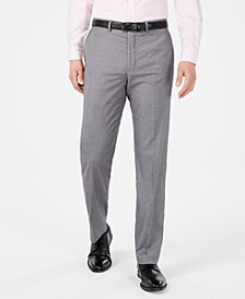 Men's Slim-Fit Performance Stretch Solid Dress Pants