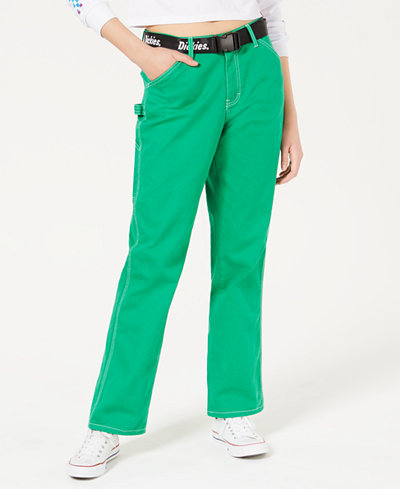 Dickies Belted High-Rise Carpenter Pants