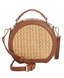 I.N.C. Ajae Round Crossbody, Created for Macy's