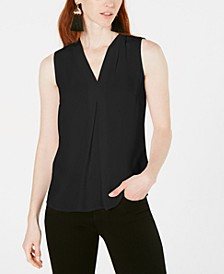 Inverted-Pleat Top, Created for Macy's