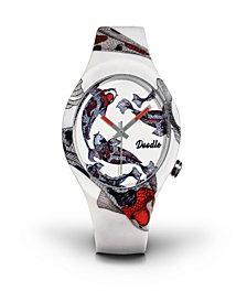 Doodle Watch Caro Koi Red