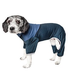 Pet Life Active 'Embarker' Performance Two Toned Full Body Warm Up