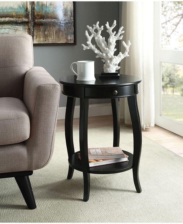 Acme Furniture - ACME Alysa End Table, Walnut