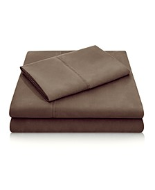 Woven Microfiber Queen Sheet Set