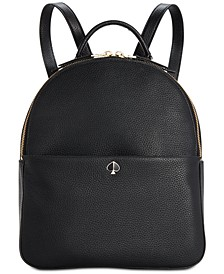 Polly Pebble Leather Backpack