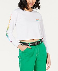 Rainbow Checkerboard Crop Top