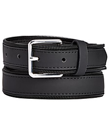 INC Men's Zipper Belt, Created for Macy's