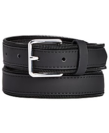 I.N.C. Men's Zipper Belt, Created for Macy's