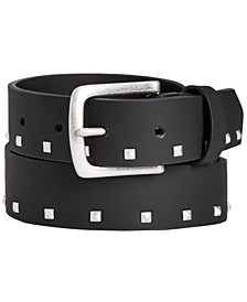 INC Men's Small Studded Belt, Created for Macy's