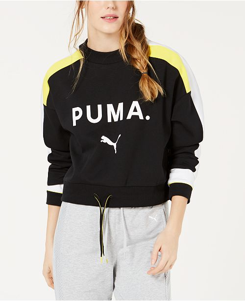 Puma Chase Cropped Sweatshirt
