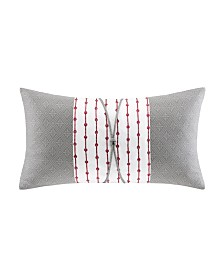 "N Natori Cherry Blossom 12""x 22"" Oblong Pillow"