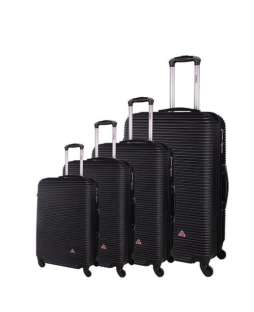 """RTA Products InUSA Royal 4-Piece 20""""/ 24""""/ 28""""/ 32"""" Lightweight Hardside Spinner Set"""