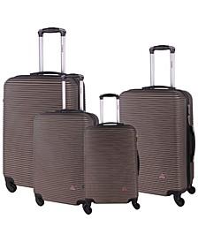 Royal 4-Pc. Lightweight Hardside Spinner Luggage Set