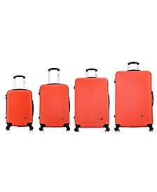 Royal 4-Pc. Lightweight Hardside Spinner Luggage Set