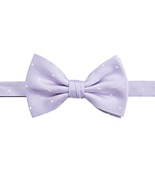 Men's Burgos Dot Pre-Tied Silk Bow Tie, Created for Macy's