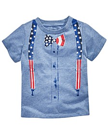 Baby Boys Patriotic Graphic T-Shirt, Created for Macy's