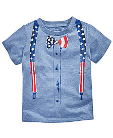 First Impressions Toddler Boys Patriotic T-Shirt, Created for Macy's
