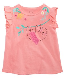 First Impressions Toddler Girls Ruffle Top, Created for Macy's