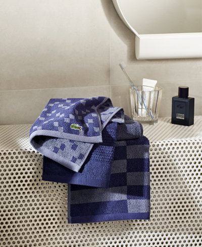 Lacoste Mix and Match Cotton Fashion Towels