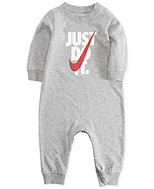 Baby Boys Just Do It Graphic Coverall