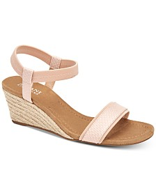 Alfani Women's Step 'N Flex Gillee Wedge Sandals, Created for Macy's