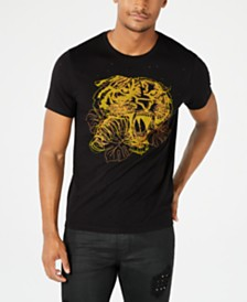 GUESS Men's Embroidered Tiger T-shirt