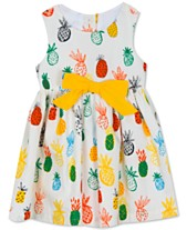 ae366ac0ee Rare Editions Baby Girls Printed Cotton Dress