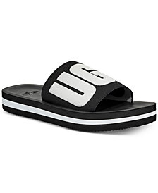UGG® Women's Zuma Metallic Graphic Pool Slides