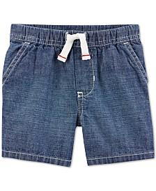 Carter's Toddler Boys Cotton Chambray Shorts