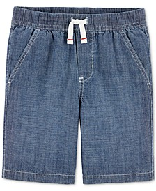 Little Boys Cotton Chambray Shorts