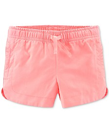 Carter's Toddler Girls Cotton Twill Shorts