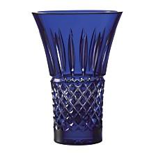 """Tramore Flared 8"""" Blue Vase"""