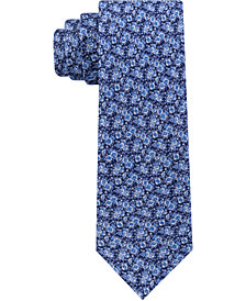 Tommy Hilfiger Men's Mini Floral Slim Linen Tie