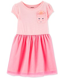 Carter's Toddler Girls Unicorn Pocket Tulle Dress