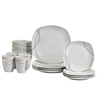 Deals on Tabletops Unlimited Alec 16-Pc. Ash White Set, Service for 4