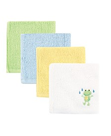 Washcloths, 4-Pack, One Size