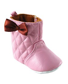 Luvable Friends Quilted Boots, 0-18 Months
