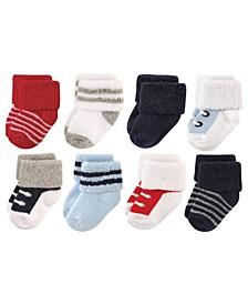 Socks, 8-Pack, 0-12 Months