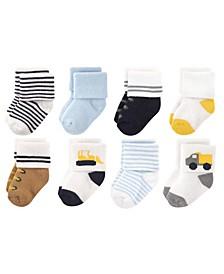 Luvable Friends Socks, 8-Pack, 0-12 Months