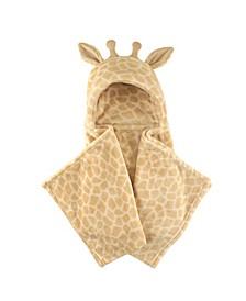 Hudson Baby Plush Hooded Blanket, One Size